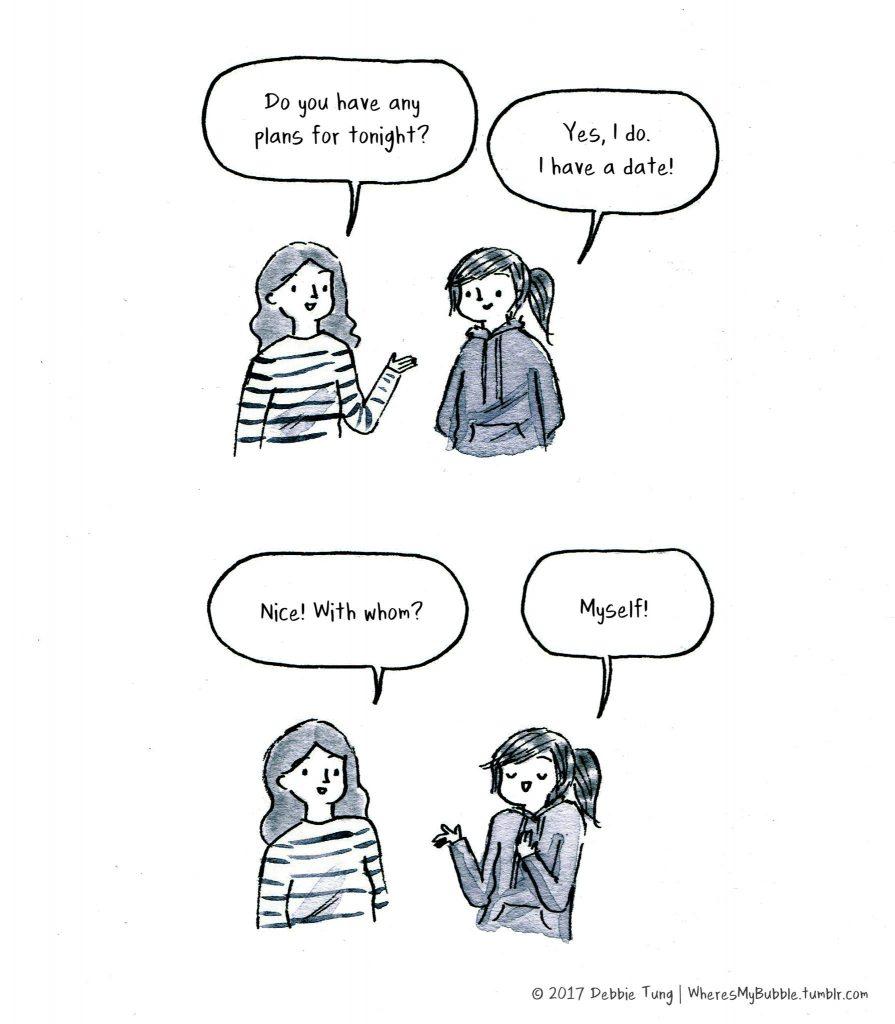 Dating noen som trenger alene tid